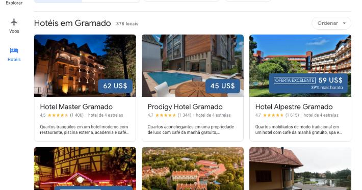 Google lança nova ferramenta para planejamento de viagens