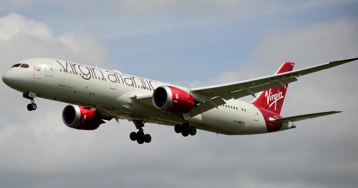 Anac autoriza britânica Virgin Atlantic a funcionar no Brasil